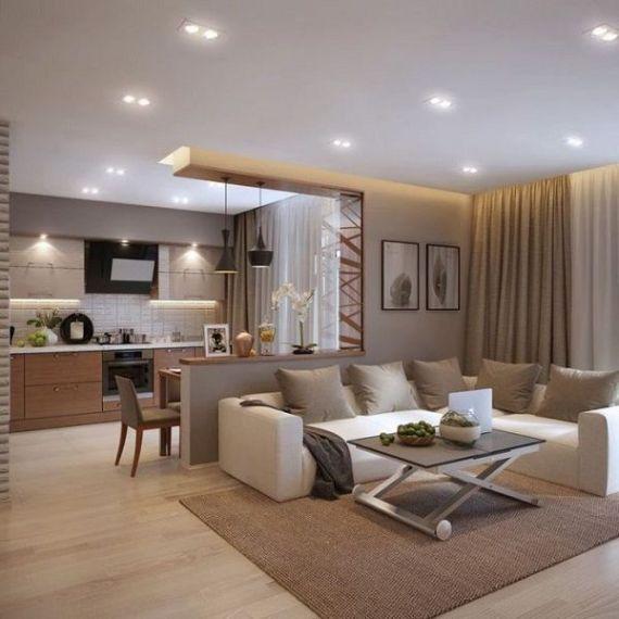 Đèn Led- Lựa chọn thông minh cho giải pháp chiếu sáng phòng khách