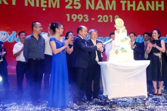 Kỷ niệm 25 năm ngày thành lập Công ty Cổ phần tập đoàn DEKKO.